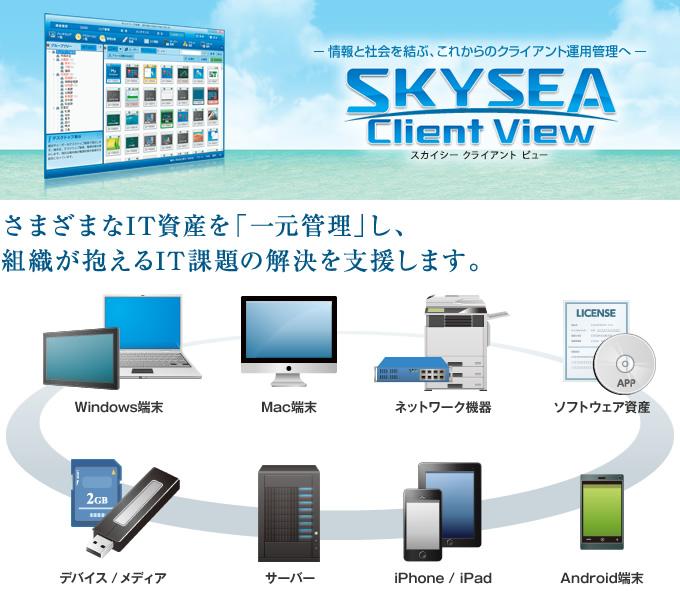 SKY SEA Client View